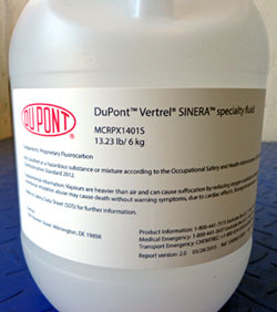 DuPont Vertrel Sinera from Chiller Uptime Technologies